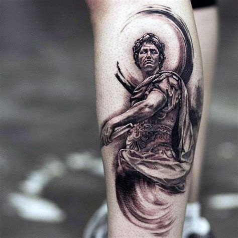 roman statue tattoo 60 statue designs for ink ideas