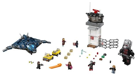 Lego Airport Battle 76051 76051 airport battle lego marvel
