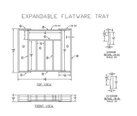 learn     expandable flatware tray
