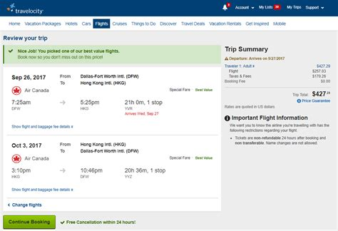 travelocity flights canada lifehackedstcom