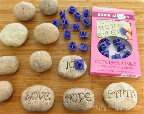 rock craft projects sweet serenity stones hungry happenings recipes