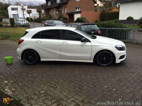 W176 Tieferlegen by Img 1110 Tieferlegung H R 45mm Mercedes A Klasse W176