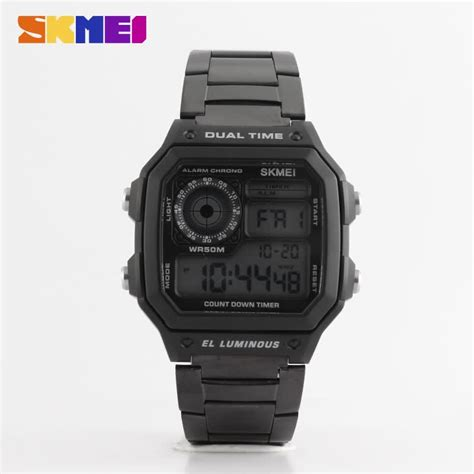 Skmei Formal Stainless Water Resistant Limited skmei brand 5 atm resistant suare chronograph quartz 1335 buy 5atm water