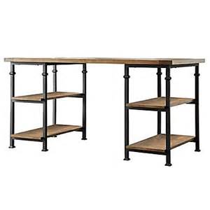 Modern Rustic Desk Homebelle Vintage Industrial Modern Rustic Storage Desk Oak Staples 174