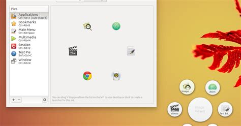 gnome pie themes circular app launcher gnome pie 0 6 7 gets new clipboard