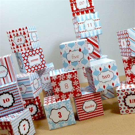 printable advent calendar boxes advent calendar box templates 4 flickr photo sharing
