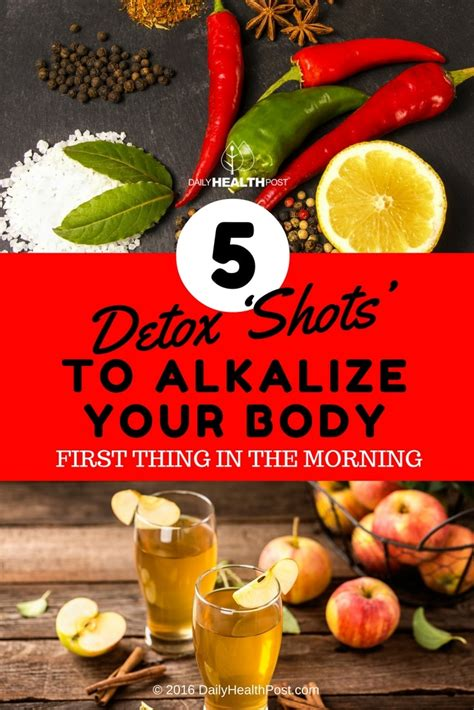 Detoxing And Low Ph Levels In The Morning by 5 Detox To Alkalize Your When You Up