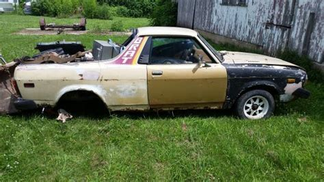 subaru brat for sale craigslist 1981 subaru brat project car for sale in mccallsburg iowa