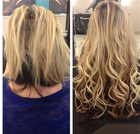 hairstyles with tape extensions 39 best images about hair extensions before and after on