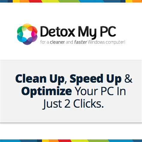 Speed Up Detox by Detox My Pc Clickbank