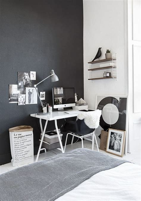 black and white home office decorating ideas decordots office