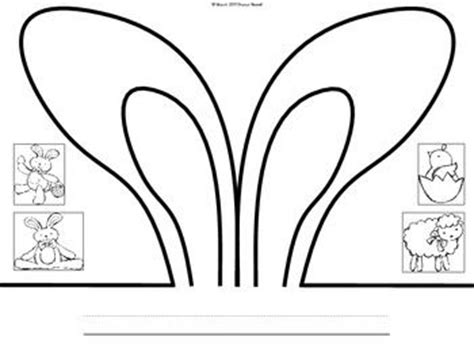 easter bunny hat template 17 best images about docs handouts and printables on