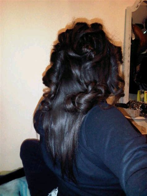 roller wrap black hair pics my healthy hair journey roller wrap trial error