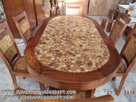 Meja Makan Oval 6 Kursi jual meja makan minimalis oval 6 kursi koin antik murah
