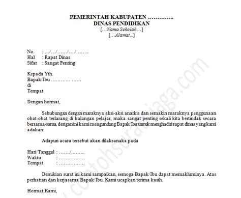 contoh surat niaga lamaran kerja resmi