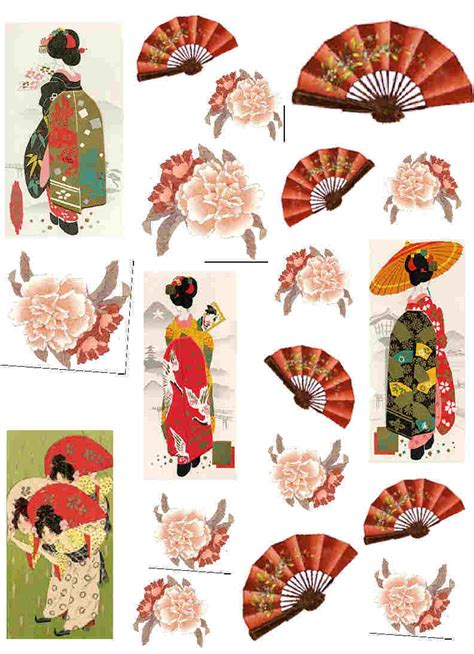Japanese Decoupage Paper - decoupage paper and collage sheets original tissue