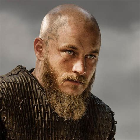ragnar shaved head 17 bald men with beards