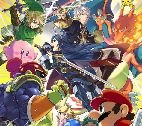 Bros Bisban 1 smash bros for 3ds and wii u playable at oz comic