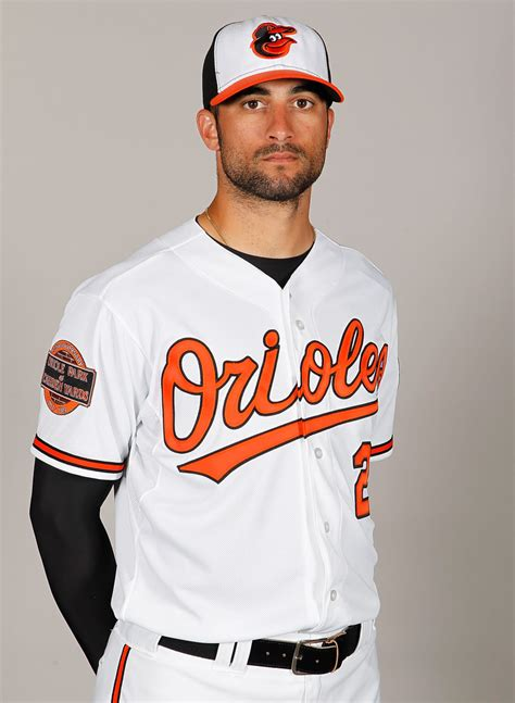 Baltimore Orioles Giveaways - nick markakis in baltimore orioles photo day zimbio