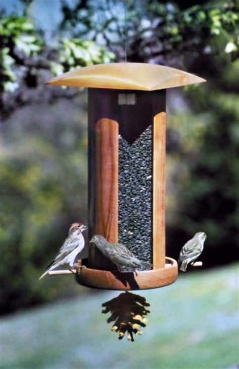schrodt songbird lantern big tall bird feeder