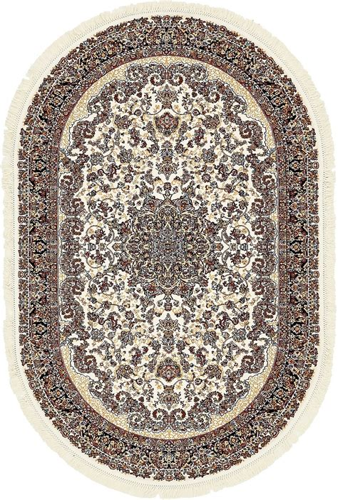 Oval Shaped Area Rugs Home Floor Carpte Area Rug Oval Shape Medallion Carpets Traditional Style Rugs Ebay