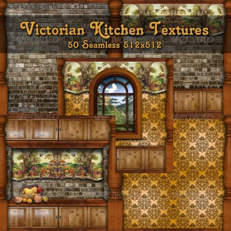 Second Hand Kitchen Cabinets by Victorian Kitchen Textures Pack By Artusjess 3docean
