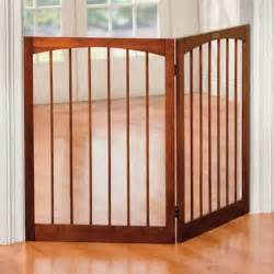 doggie gate indoor pet safety gate wooden folding 2 panel play yard