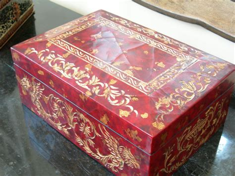 Decorative Storage Boxes by Maitland Smith Coromandel Decorative Storage Box Ebay
