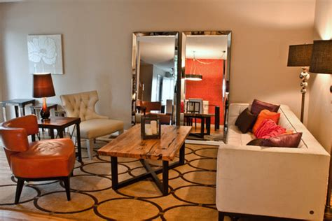 Bevelled Living Room Mirrors Big Mirrors In The Living Room 5 Inspirations
