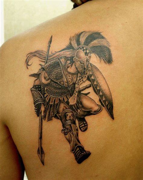 greek warrior tattoo warrior quotes quotesgram