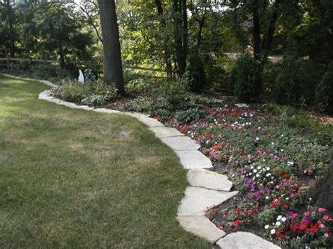Landscape Edging Des Moines Perrenial Gardens For Iowa Drainage Solutions Des