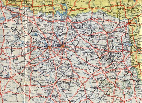 road map of central texas texas road map pictures to pin on pinsdaddy