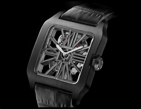 Cartier Revo Black Gold cartier s santos adlc and how it survived after three