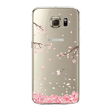Samsung S7 Silikon Sulley Cover Silikon urberry galaxy s7 edge s7 edge soft flower cover for samsung galaxy s7
