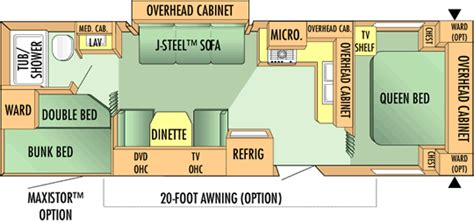 Fema Trailer Floor Plan by 2007 Jay Flight Jayco Inc