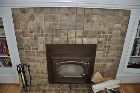 Pictures Of Fireplaces With Tile by That Batchelder Tile Ventana Construction