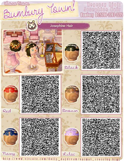 acnl hair qr codes on pinterest animal crossing animal crossing