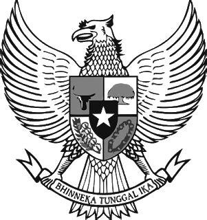 Miu Flat Hitam Putih 1 simbol nkri elosistem