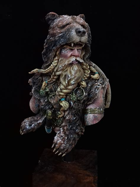 berserker viking by d nnypollaert 183 putty amp paint