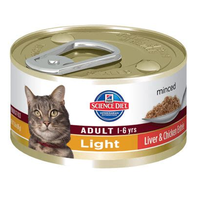 science diet light cat food hill s science diet light entree minced cat food