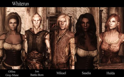beautiful hair retexture at skyrim nexus mods and community inhabitants of skyrim npc overhaul at skyrim nexus mods and community