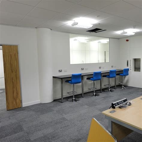 design lab basingstoke mwr infosecurity case study interior design and fit out