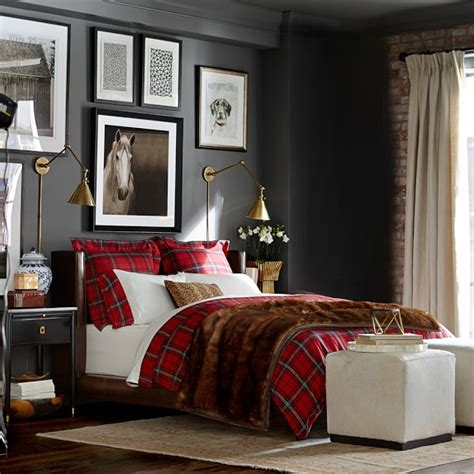 william sonoma bedding tartan bedding red williams sonoma