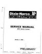 dixie narco manuals vending machines vending machine