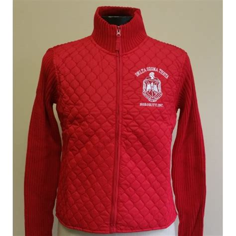 Jk0001 Jaket Ndx Aka Sweater Hodie clothing shoes accessories delta sigma theta sorority sleeve padded jacket s 3xl