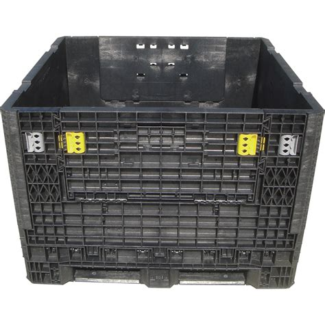 foldable storage containers plastics heavy duty collapsible bulk