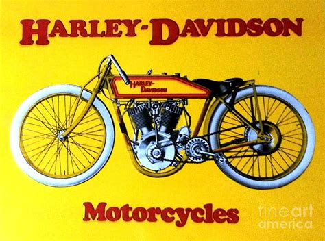 Poster Harley Davidson 1 harley davidson poster painting by pg reproductions