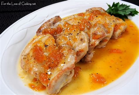 Apricot Glazed Chicken Thighs For The Of Cooking