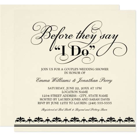 50 s style wedding shower invitations s wedding shower invitation wedding vows zazzle
