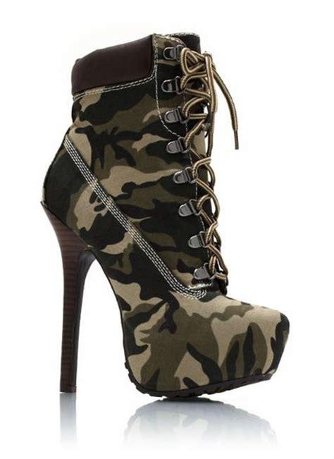 camo high heel boots camo high heels for radical activities camouflage new